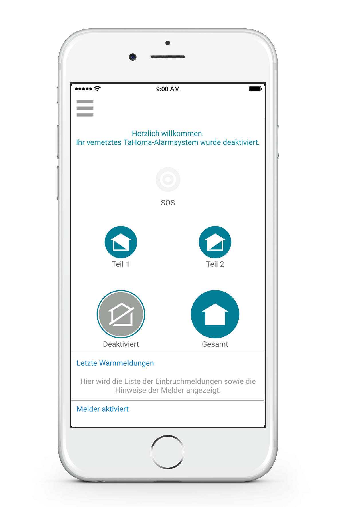 Somfy kostenfreie Smart-Home-App